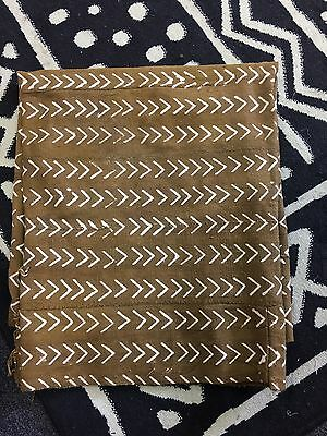 Khaki Color Mud Cloth
