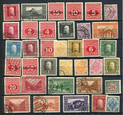 1879-1916 Bosnia and Herzegovina,Lot Collection Used/Mint Stamps