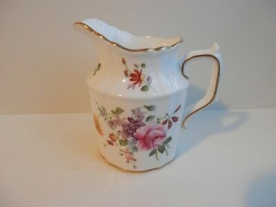 Hammersley & Co. Bone China Floral 'Minuet' Creamer Pitcher