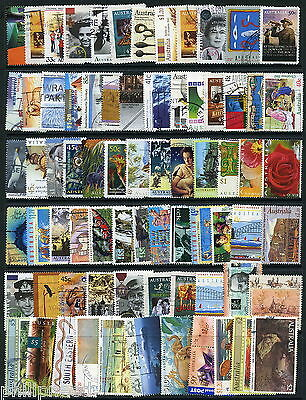 AUSTRALIA Modern Used Commemorative Stamps x70+ great condition [P348
