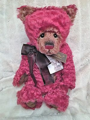 Charlie Bears Jellybean Mohair Bear Isabelle Lee Collection 2013 Limited No 314