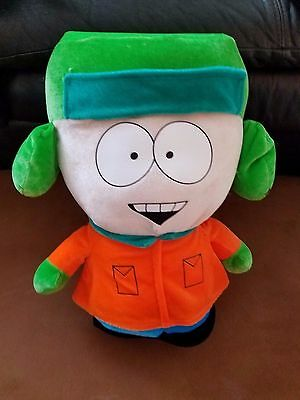 "South Park Kyle Plush 15"" Comedy Central 2008 stuffed Toy"