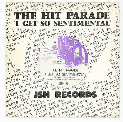 "rare indie pop / rock UK: The HIT PARADE : I Get So Sentimental - 7"" UK 1987"