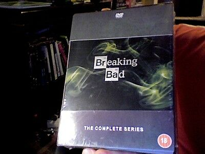 Breaking Bad : The Complete Series - DVD Boxset. New & Sealed. UK Region 2