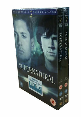 Supernatural Complete Series 2 DVD Season New Sealed
