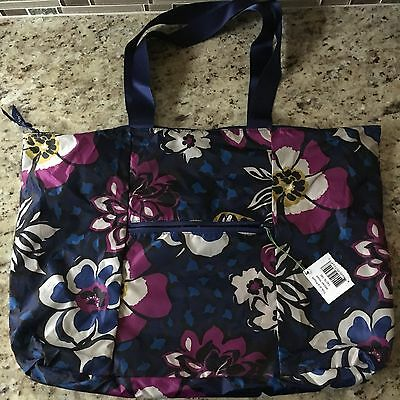 VERA BRADLEY Tote in a Pouch +++NEW+++ AFRICAN VIOLET