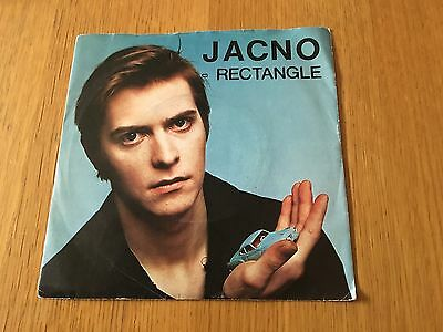 """Jacno - Rectangle - 1981 7"""" P/s French Synth Pop - New Records Listed Every Day!"""