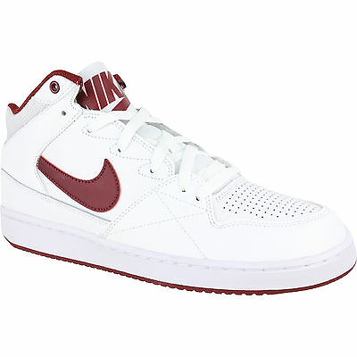 Nike Men's Priority Mid Footwear Basketball  Leather Trainers