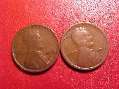1914-PS  Lincoln Cents