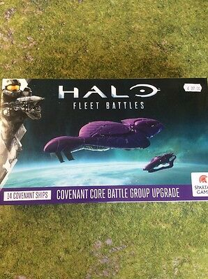 Covenant Core Battle Group Upgrade For Halo Fleet Battles By Spartan Games