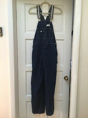 GENUINE VINTAGE MADEWELL OF NEW BEDFORD, MA DENIM OVERALLS FROM THE 1960s/70s