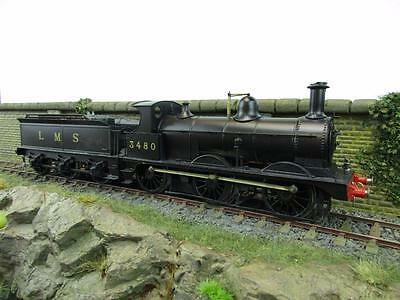 7mm FINESCALE O GAUGE KIT BUILT LMS 0-6-0 D1 CLASS '3480'