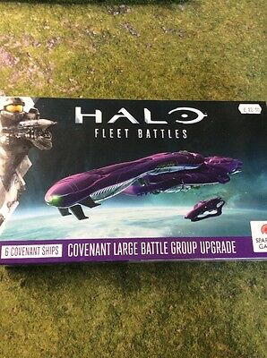 Covenant Large Battle Group Upgrade Box For Halo Fleet Battles By Spartan Games