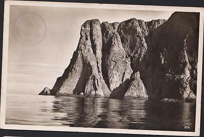 "NORWAY HAMBURG SUD ""MONTE ROSA"" Old postcard  NORDCAP TO PARIS YEAR 1932"