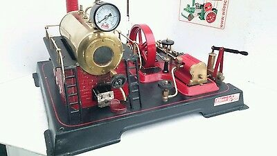 A rare used Wilson D21 steam engine as shown.