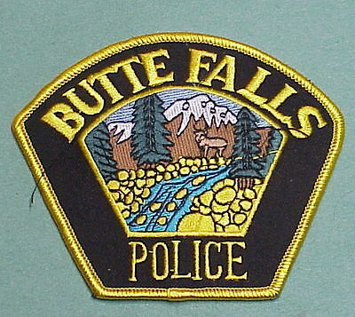 Butte Falls  Oregon  Or  Police Patch  Very Nice!!    Free Shipping!!!