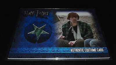 Harry Potter Deathly Hallows Costume Card C6 Ron Weasley 438/450