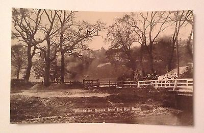 Winchelsea, Sussex, From The Rye Road1910 Postcard