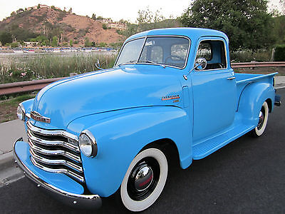 1949 Chevrolet Other Pickups deluxe 1949 Chevy 3100 Deluxe 5 window all original fully restored frame off Beautiful!