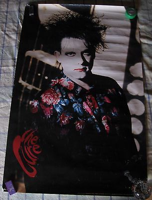 THE CURE Robert Smith 1990 VINTAGE ORIGINAL MUSIC POSTER
