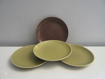 "Russel Wright Iroquois Casual China 6.5"" Dessert/Bread Plate x4 Nice"