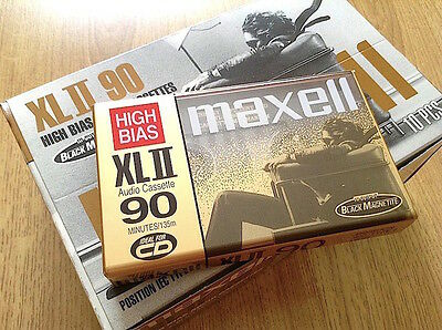 Maxell Xl Ii-90. Sealed Blank Audio Cassette Tape. New Rare