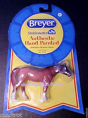 Breyer horse Stablemates American Quarter Horse Red Roan - NIP