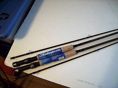 Shakespeare Micro Graphite Fly Fishing Rod MFLY702 7' Light Action