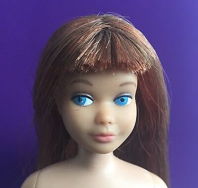 Vintage Skipper Color Magic Doll Two Tone Red Hair Brown Scalp