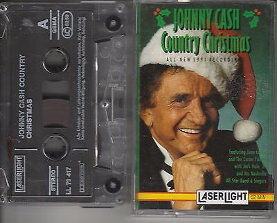 "JOHNNY CASH - MC ""Country Christmas"""