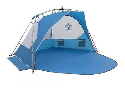 Coleman Instant Sundome Large 4 Man Beach Shelter Tent UV Guard Outdoors Fishing