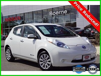 2013 Nissan Leaf SV 2013 SV Used Certified Automatic FWD Hatchback