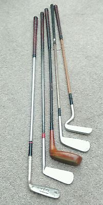 5 Old Golf Putters.