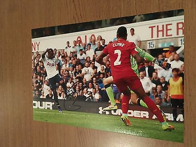 Danny Rose Tottenham Hotspur Fc Spurs 12X8 Hand Signed Photo Autograph