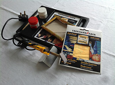 Eberhard Faber Easy Metal Starter Set plus SP50 Stencil Cutter Tool