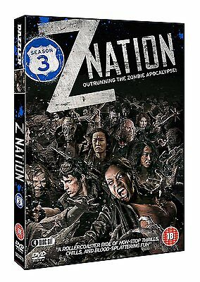 Z NATION Complete Season Series 3 Collection Zombie Box Set NEW DVD