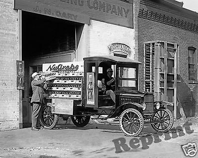 Photograph  Vintage Nugrape Soda Ford Delivery Truck  1923c  8x10