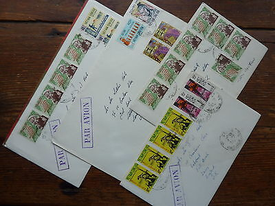 VIETNAM SOUTH collection wartime airmail covers to GB, better stamps