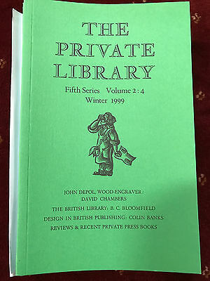 The Private Library 5th Series Vol.2:4 1999