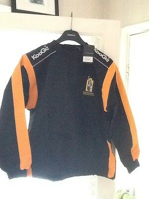 KooGaa Warm Up Rugby Top with Winchester RFC Logo Size Large Boy