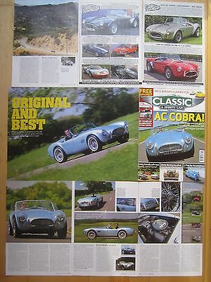 AC Cobra 289 , 427 , Shelby , Ace & Aceca Reports & Adverts, Buckland, 16/66 etc