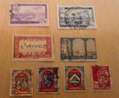 Algeria  Selection Of Used Stamps
