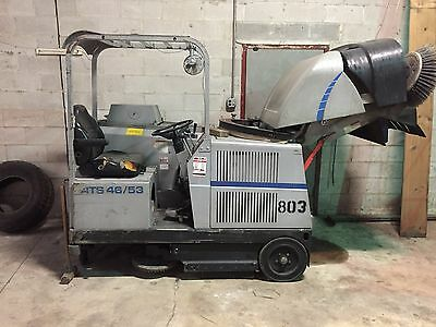 Floor Scrubber Sweeper 505-801 American-Lincoln