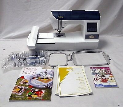 BABY LOCK EMORE EMBROIDERY MACHINE W/ MANUAL & EXTRAS Make an Offer!