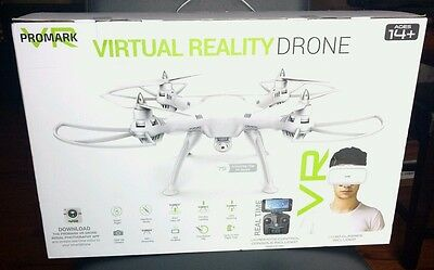 NEW & Sealed Promark P70-VR 3D Virtual Reality High Def Drone w/ 720p HD Camera
