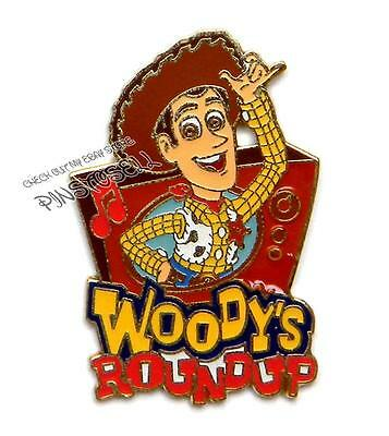 Woody's Round Up Toy Story Magical Musical Moments Disney Pin #80