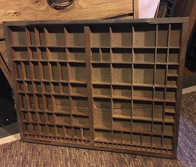 PRINTERS TYPE CASE Or DRAWER 2/3  Case Very OLD