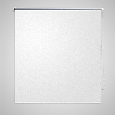 #SNew Roller Blind Thermal Blackout Easy Installation 40 x 100 cm White Quality