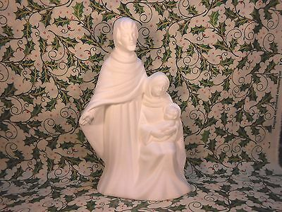 Holy Family (X56) Ceramic Bisque Ready to Paint
