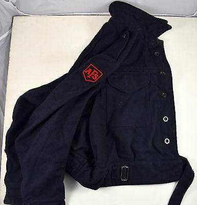 Original Post WWII Auxiliary Fire Service AFS Civil Defence Jacket